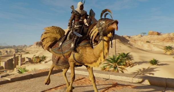 В Assassin's Creed: Origins появились Чокобо Assassin's Creed: Origins
